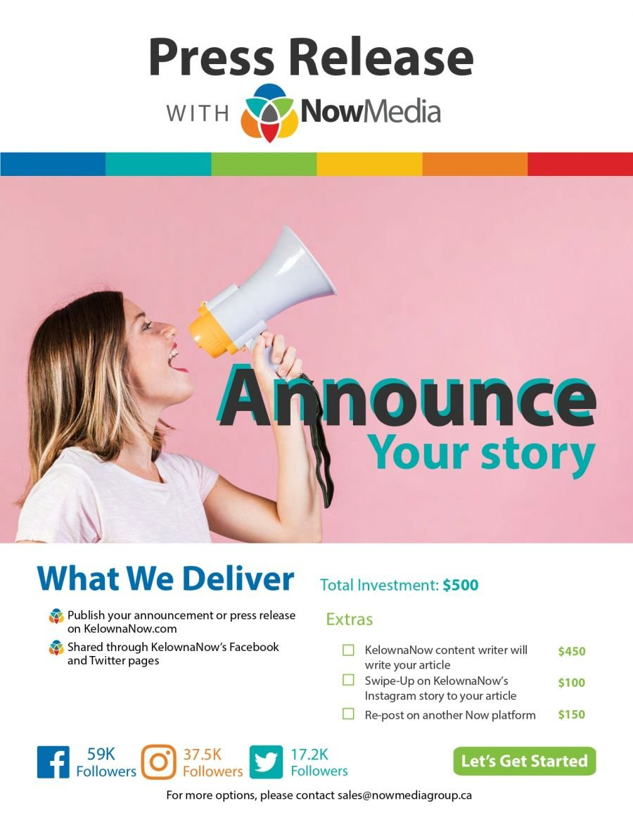NowMedia Group press release package