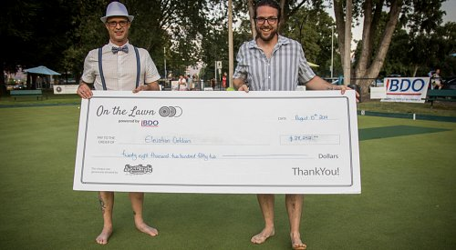 On the Lawn powered by BDO raises nearly $30K for Elevation Outdoors this year
