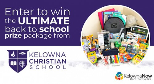 CONTEST CLOSED! Enter to win the ultimate back to school prize pack from Kelowna Christian School!