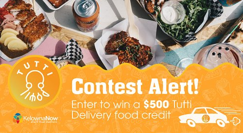 CONTEST CLOSED! Enter to win a $500 app credit from Tutti Delivery!