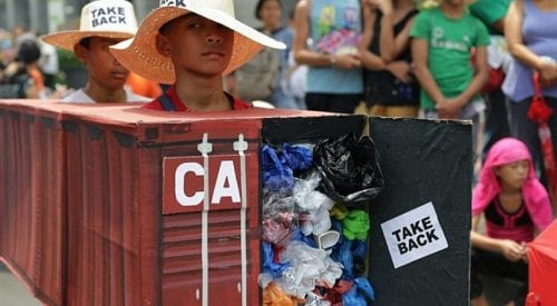 Filipino president threatens 'war' against Canada over garbage containers