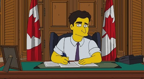 Justin Trudeau to feature in a Canada-themed episode of The Simpsons