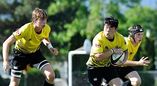 KSS rugby on the upswing; tough provincial test today