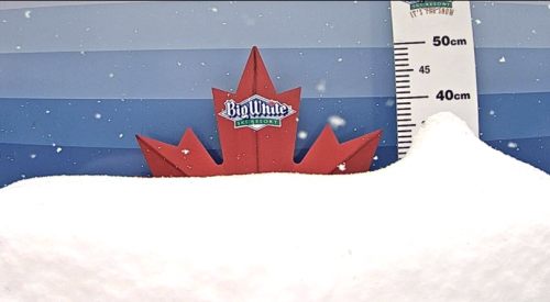 Big White sees 21 cm of snow in the past 24-hours