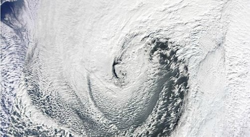 What on earth is a 'bomb cyclone?'