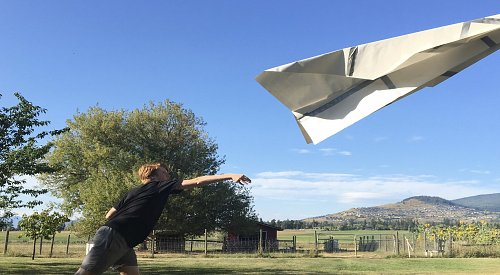 Okanagan Science Centre to launch giant paper airplane this weekend
