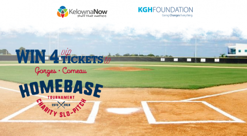 Contest Alert! Win four VIP tickets to the HOMEBASE Charity Slo-Pitch Tournament All-Star Match